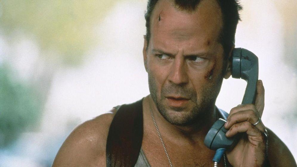 Foto: Bruce Willis como John McClane en 'La jungla de cristal III'