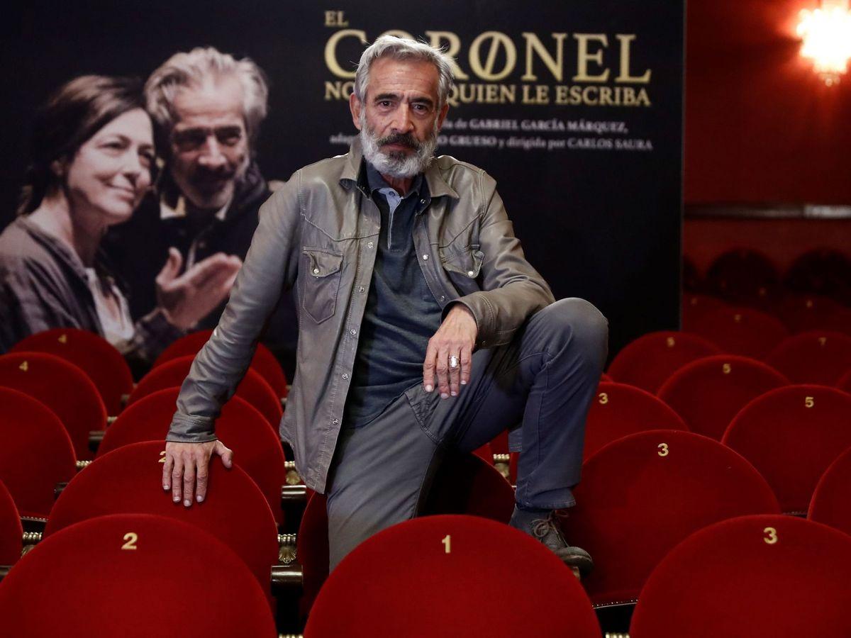 Foto: Imanol arias protagoniza 'El coronel no tiene quien le escriba'. (EFE)
