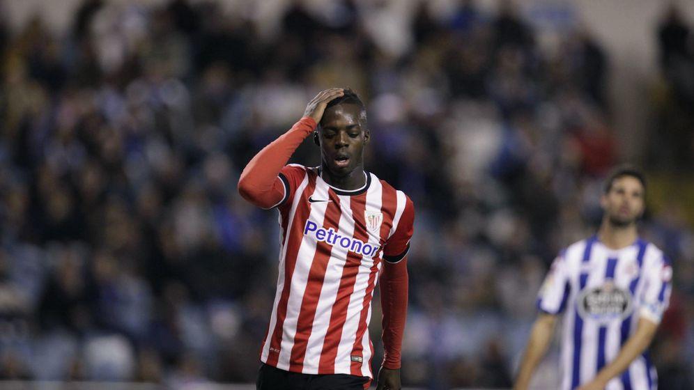 Foto: Iñaki Williams, en un partido con el Athletic (EFE).