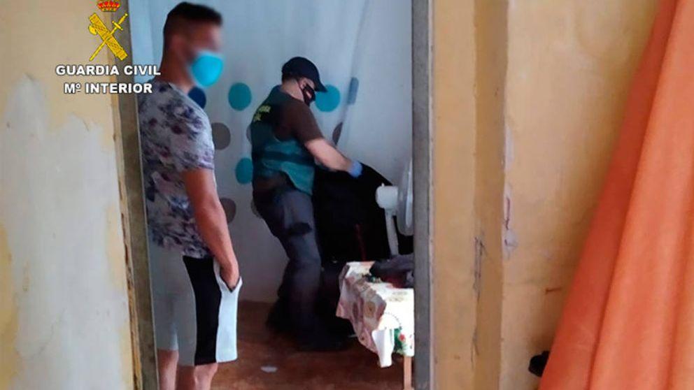La Guardia Civil desmantela un grupo criminal dedicado al robo de cobre