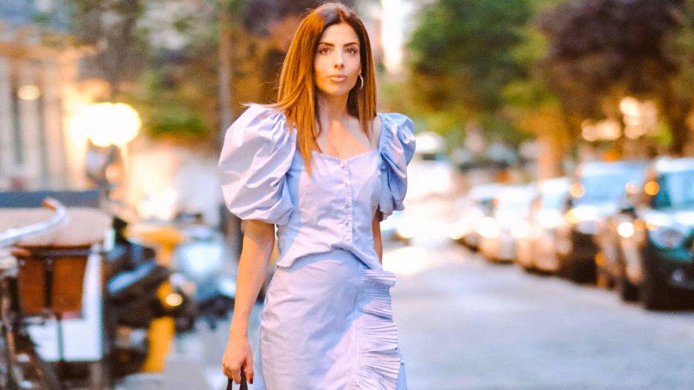 Lidia Bedman (Lady Vox), cena romántica con un look de rebajas 'made in Spain'