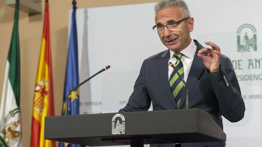 Foto: El portavoz del Ejecutivo andaluz, Miguel Ángel Vázquez. (EFE)