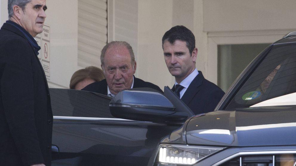 Vídeo: la tristeza de don Juan Carlos y doña Sofía por la muerte de la infanta Pilar