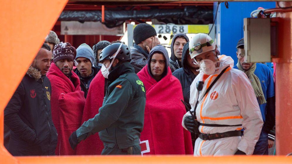 Foto: El pasado 18 de noviembre, 470 inmigrantes alcanzaron las costas de Cartagena. (EFE)