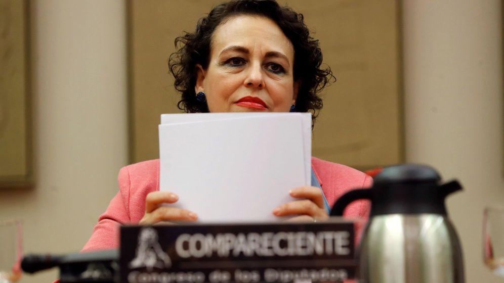 Foto: La ministra de Trabajo, Migraciones y Seguridad Social, Magdalena Valerio. (EFE)