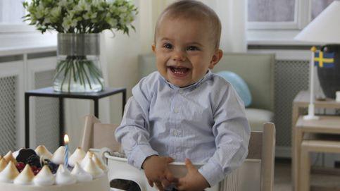 Así ha celebrado su primer año el príncipe Óscar de Suecia