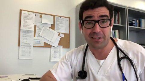 Este médico no quiere conceder entrevistas, así que tenéis que escucharle
