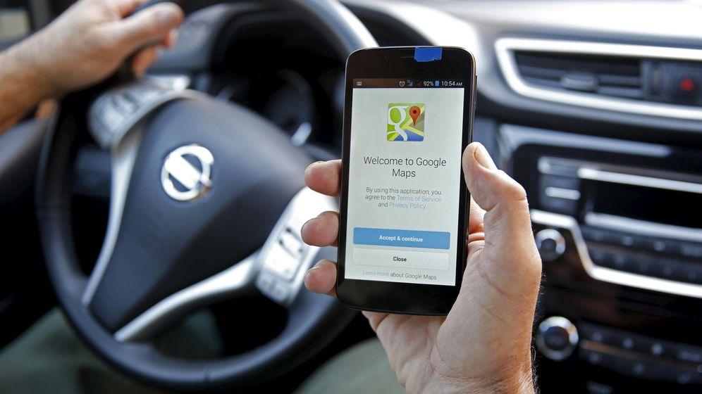 Foto: Google Maps continúa actualizando sus servicios para los conductores. (Reuters)