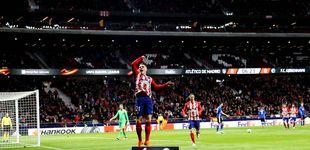 Post de Gameiro le da la razón a Simeone para que le prefiera antes que a Torres