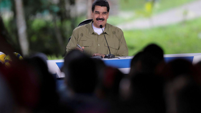 El presidente Maduro habla durante su programa semanal 'Los Domingos con Maduro', el 6 de agosto de 2017. (Reuters)