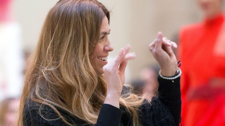 La diseñadora española Juana Martín en la Semana de la Moda de París 2018. (EFE)