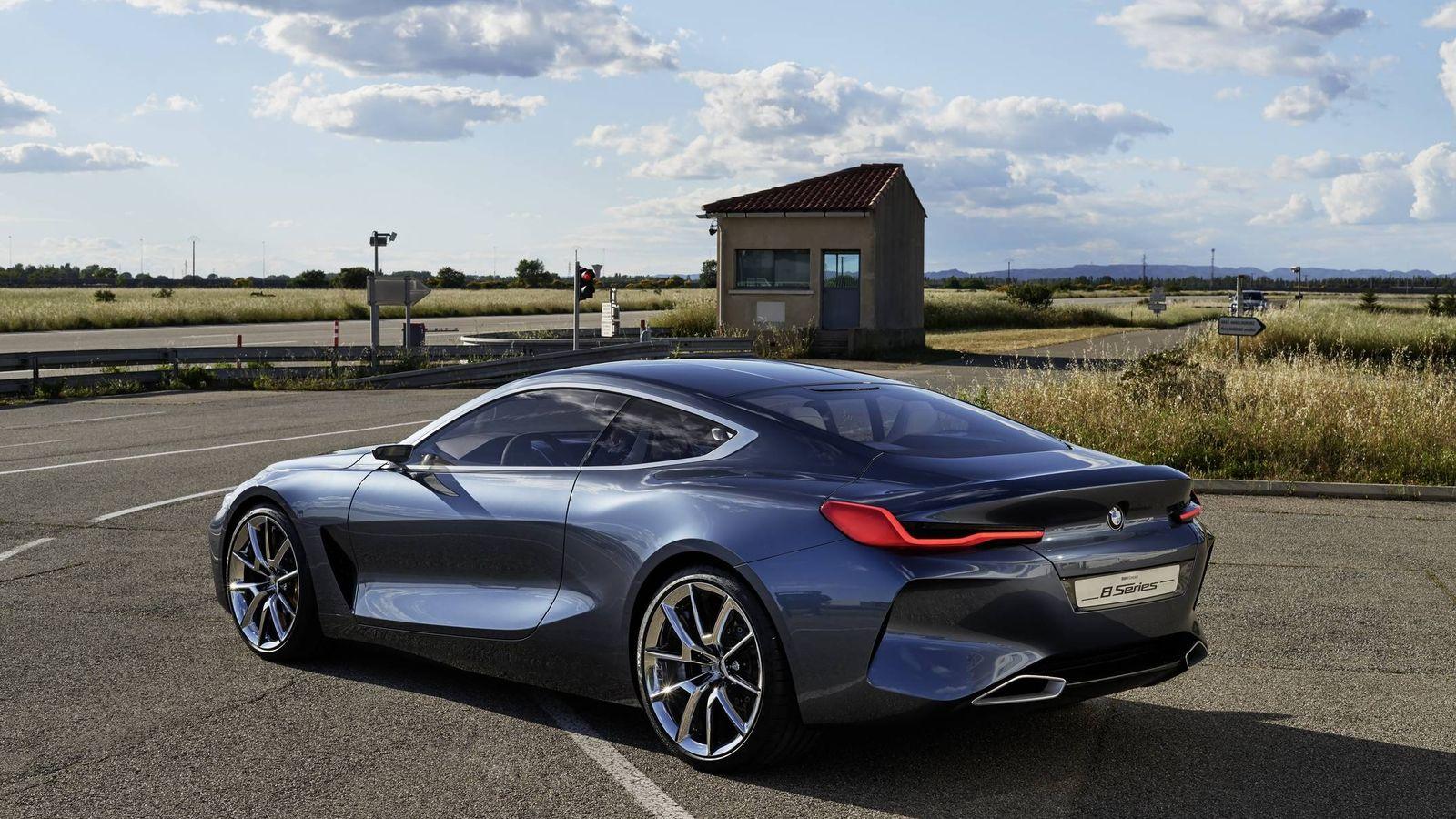 Foto: BMW Serie 8 Concept, ante sala del nuevo coupé grande de BMW