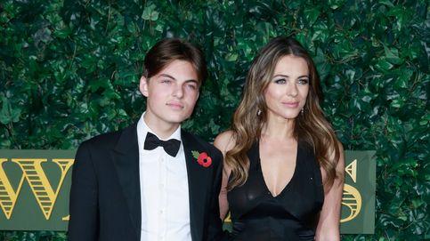 Damian, el 'hijo gemelo' de Liz Hurley, habla en Instagram tras el suicidio de su padre
