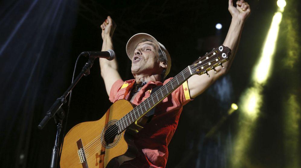 Foto: Manu Chao fue la estrella de los festejos de San Isidro en Madrid. Foto: Kiko Huesca/Efe