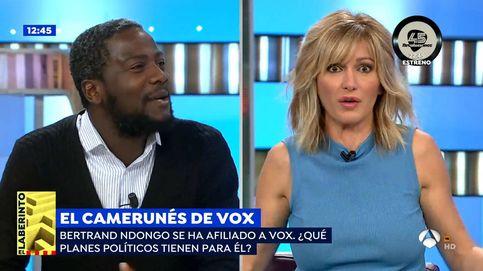 El polémico consejo de Susanna Griso al negro de Vox tras hablar de Franco