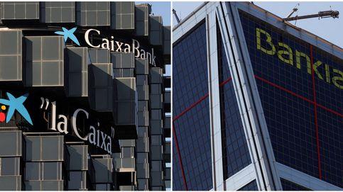 Hipotecas, préstamos y acciones, ¿qué pasará tras la fusión de Caixabank y Bankia?