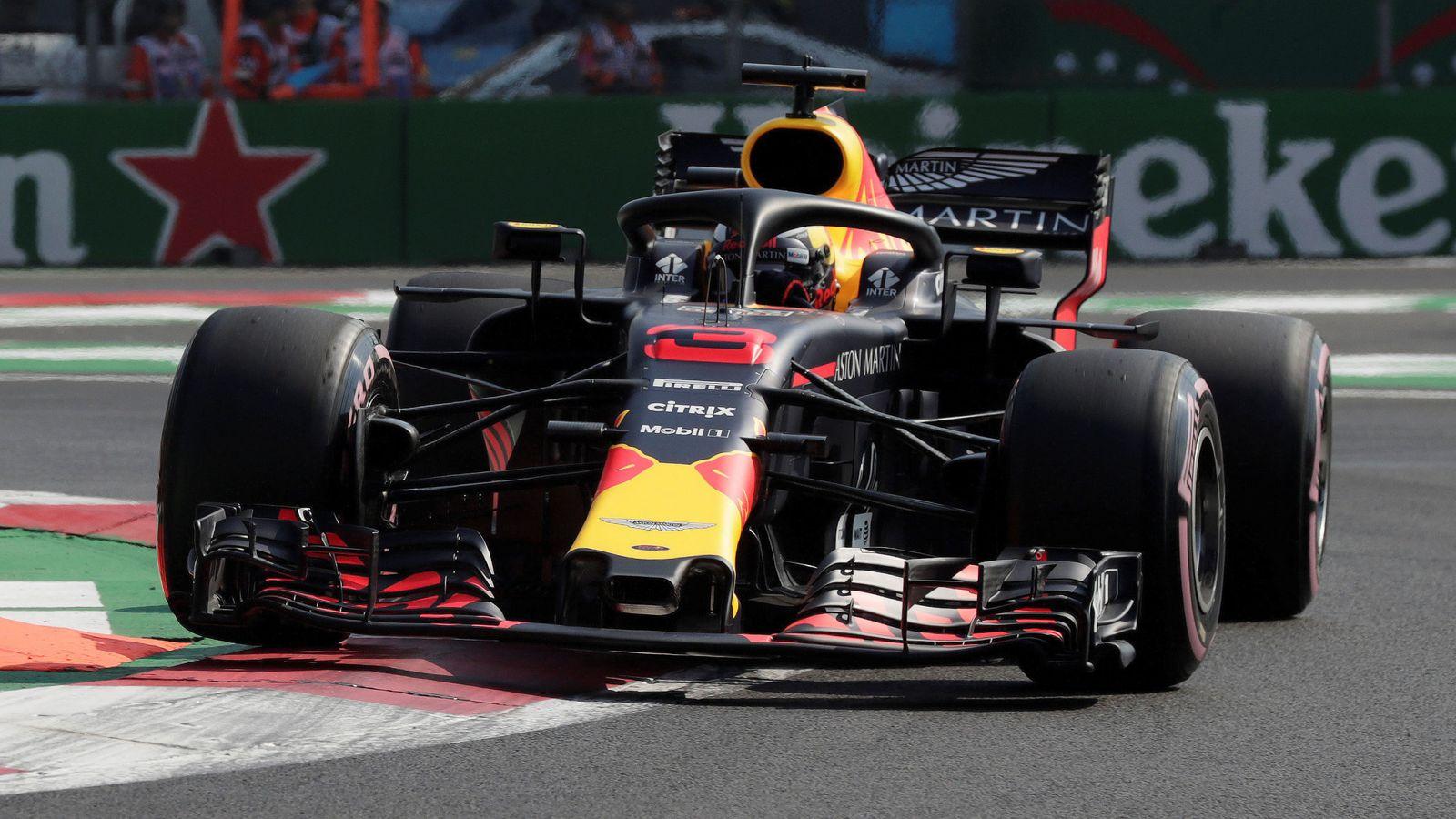 Foto: Red Bull dominó con solvencia los primeros entrenamientos libres. (REUTERS)