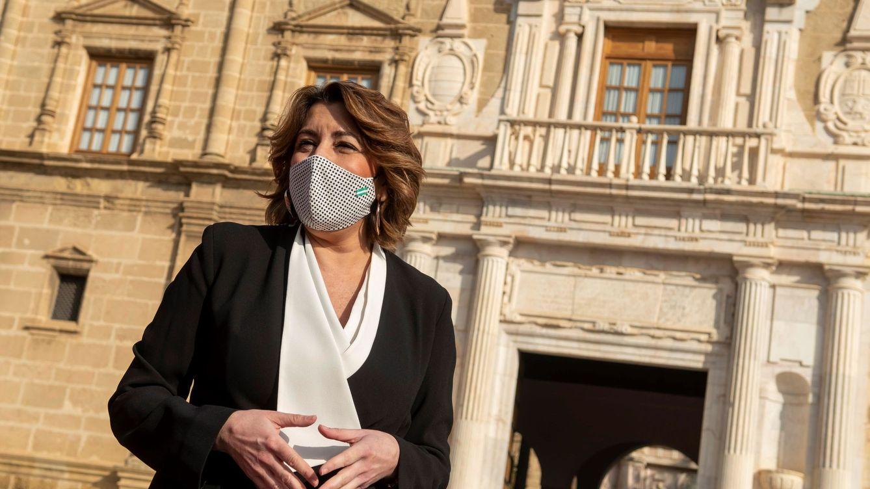 Susana Díaz desoye la declaración de guerra de Ferraz y seguirá con su campaña