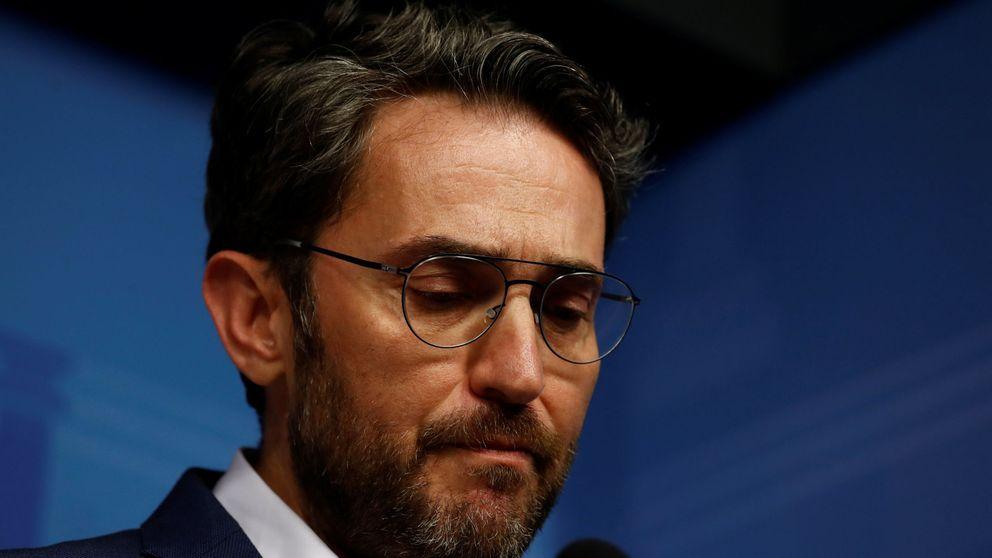 Máxim Huerta dimite como ministro de Cultura y Deporte