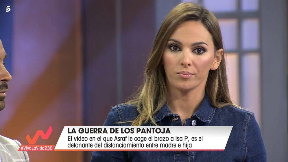 Foto: Irene Rosales, en 'Viva la vida'. (Telecinco)