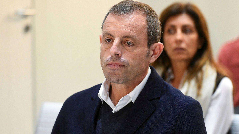 Sandro Rosell durante el juicio. (Reuters)
