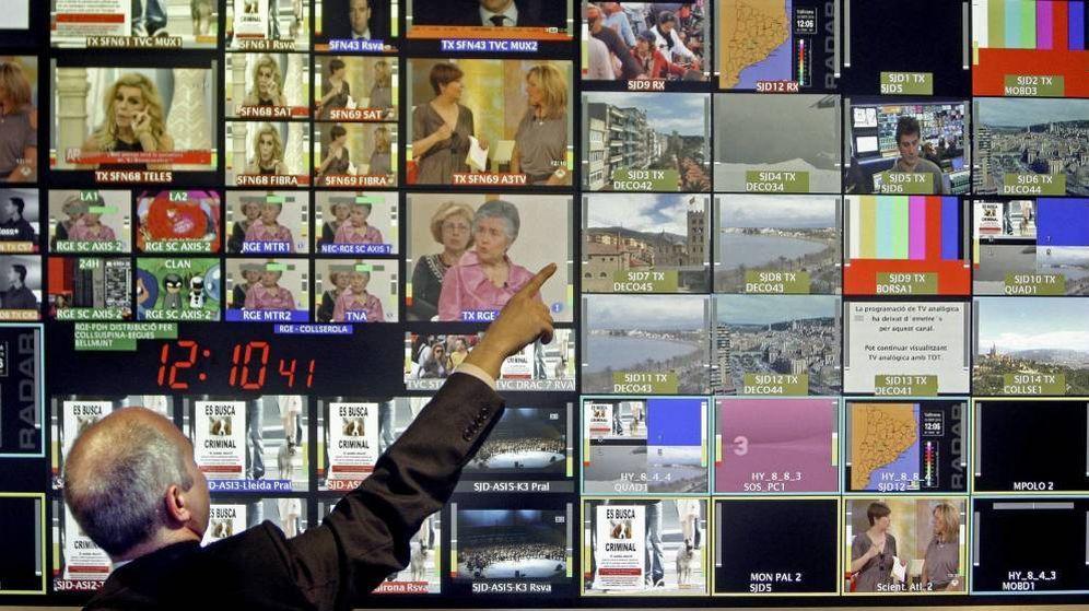 Foto: Imagen de archivo de un centro de control de emisiones. (EFE)