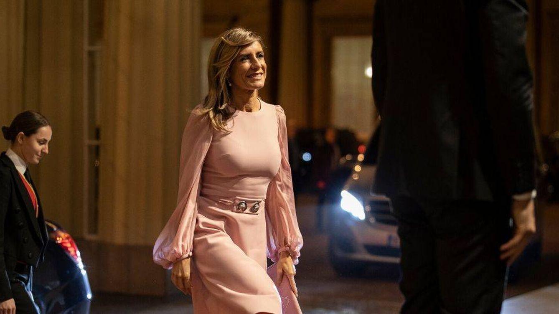 Begoña Gómez, princesa por sorpresa: del Palacio Real a Buckingham Palace en 24 h