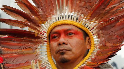 Protestas de l´dieres indígenas en Madrid