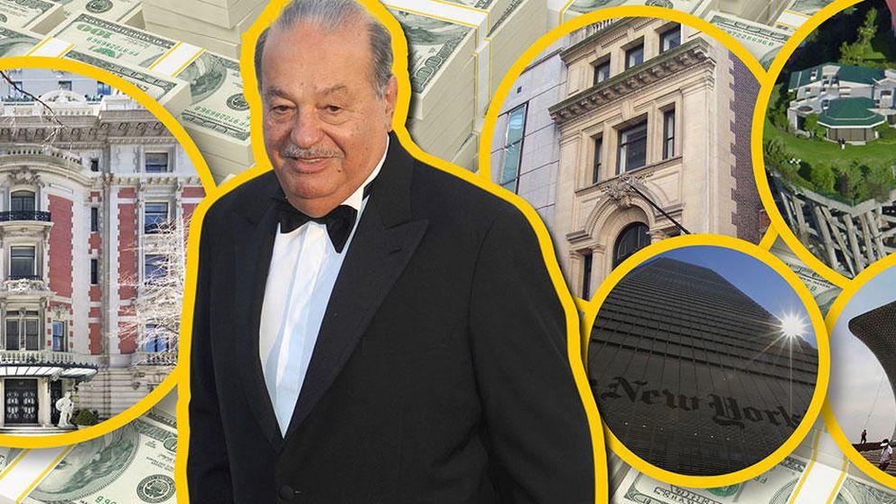 Slim vende su mansión de Nueva York por 70,5 millones