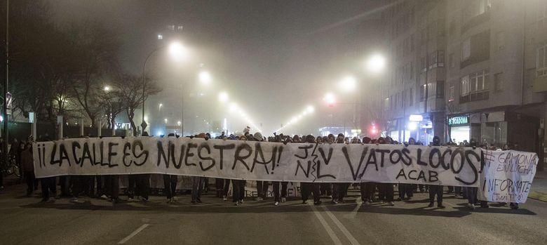Foto: El barrio burgalés de Gamonal vuelve a registrar graves incidentes.