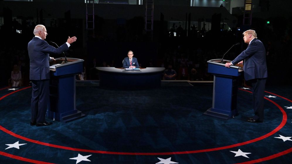 Foto: Joe Biden y Donald Trump. (Reuters)