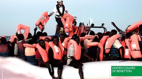 Benetton causa (otra) polémica: ahora, al utilizar imágenes del rescate del Aquarius