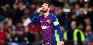 Post de Messi y el ataque de pánico del Barcelona