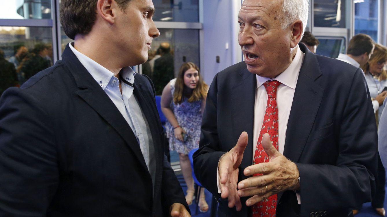 Margallo coincide con la 'tesis' de Rivera: Es un gran estadista y un gran español