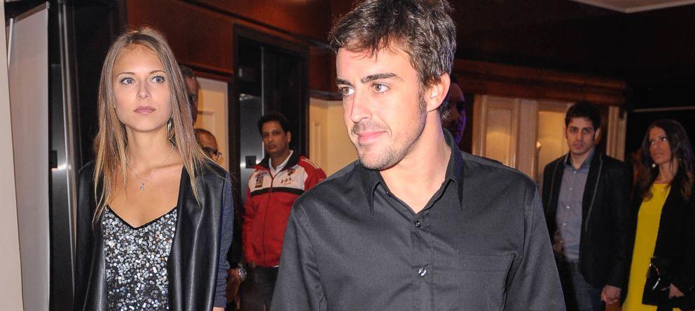 Lara Álvarez viaja a Italia invitada por Fernando Alonso