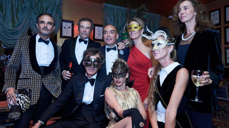 Foto: Kike y Carlos con algunos invitados. (Limited Pictures)