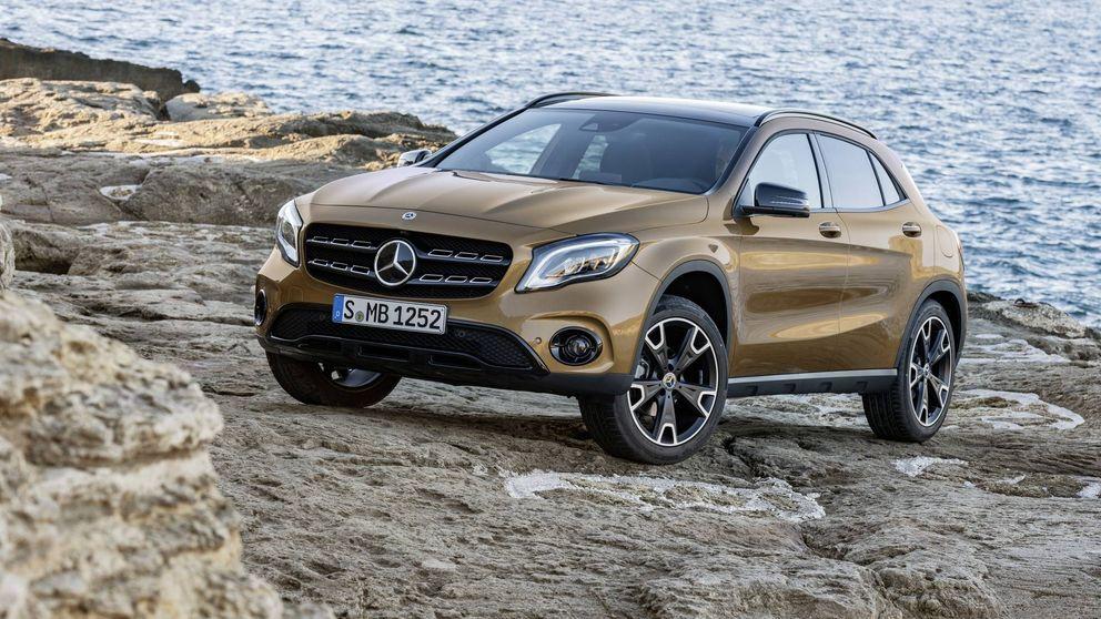 Más equipamiento para el Mercedes GLA