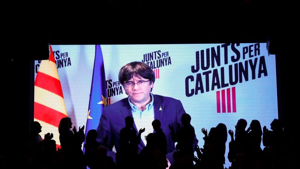 Puigdemont organiza su Parlament paralelo financiándolo desde Bélgica