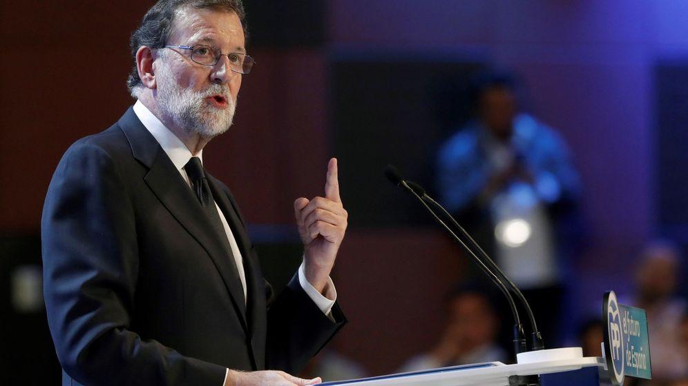 Foto: El expresidente del PP, Mariano Rajoy. (EFE)