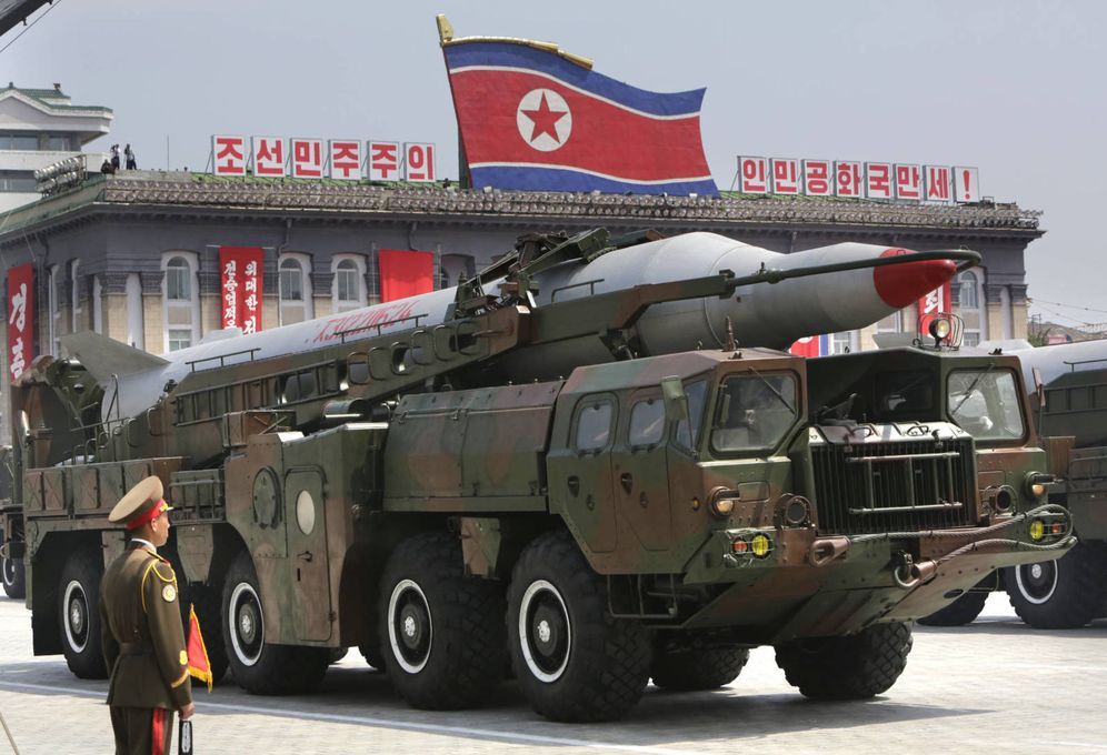 Foto: Detalle del misil Hwasong-5 de Corea del Norte. (Reuters)