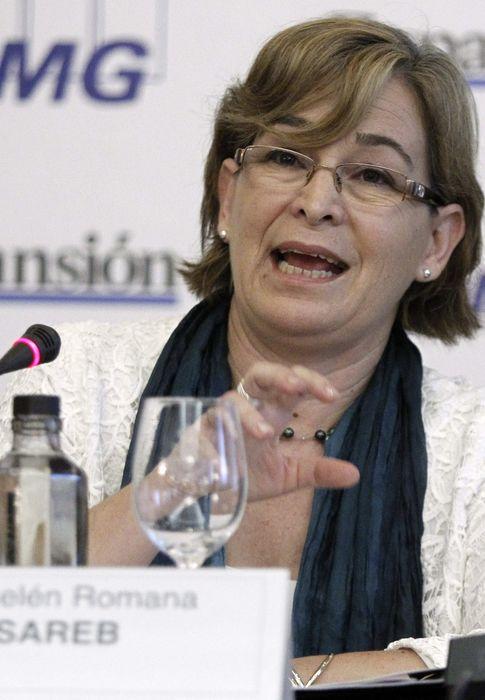 Foto:  La presidenta de Sareb, Belén Romana