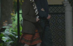 La Duquesa, sus hijos y su novio comparten torrijas en Sevilla