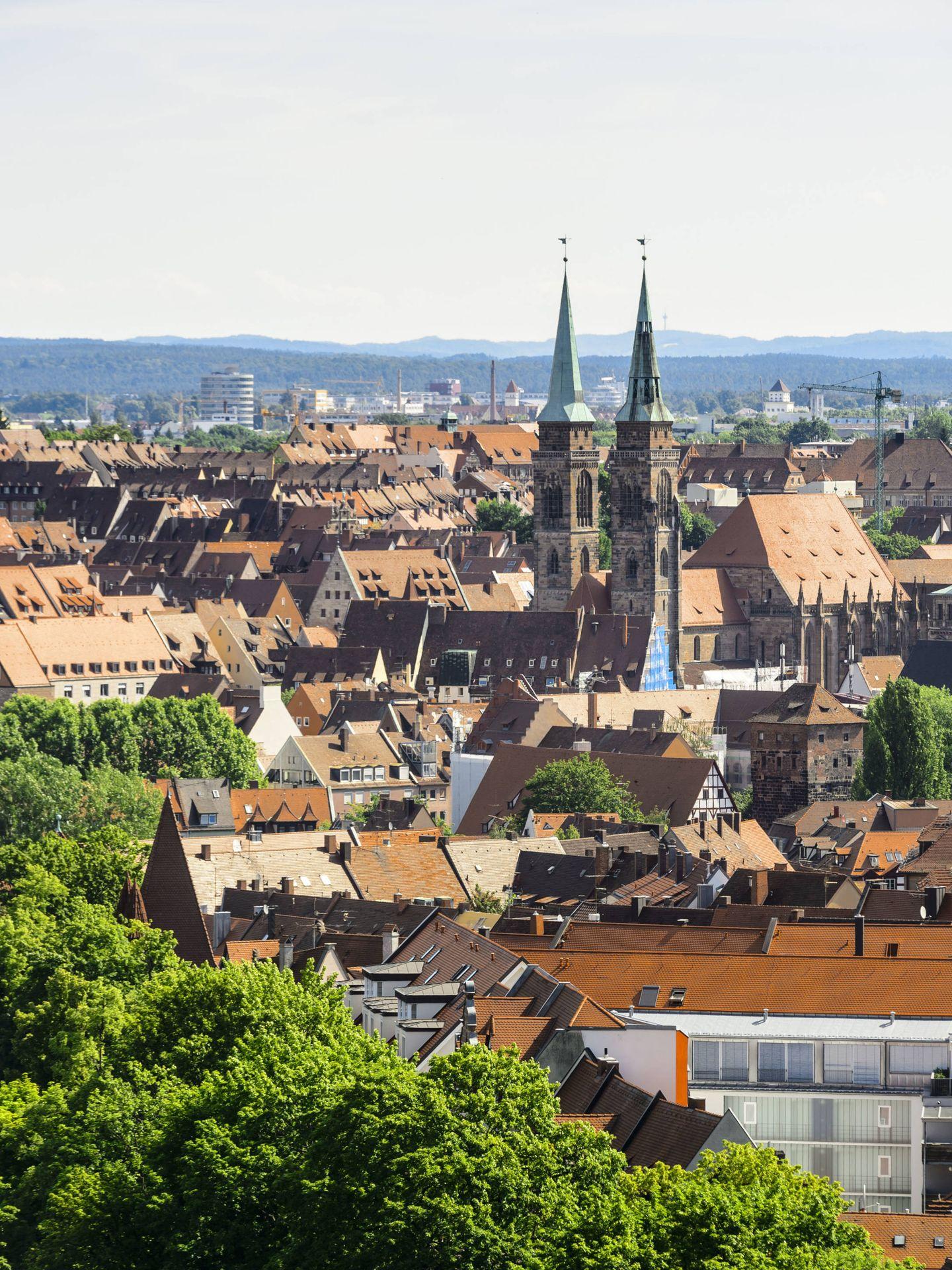 Una vista panorámica de Núremberg. (Foto: ©Uwe_Niklas)