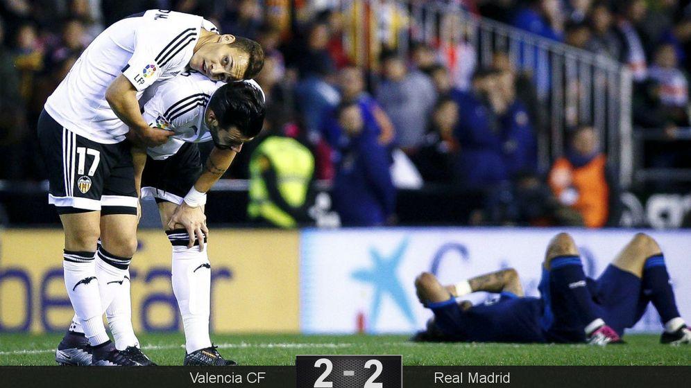 Foto: Negredo tuvo el 3-2 en la penúltima acción del partido. (EFE)