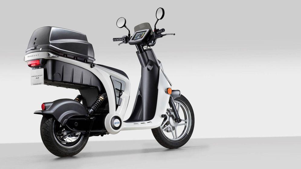 Foto: Esta es la nueva Peugeot 2.0 un vehículo eléctrico ideal para el reparto urbano.