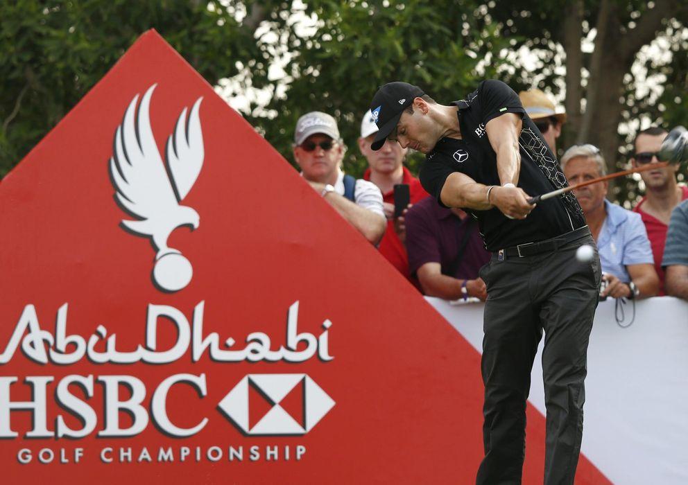 Foto: Kaymer, durante el  Abu Dhabi Golf Championship (Reuters)