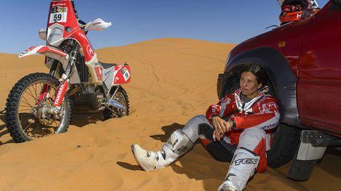 En el Dakar no hay más mujeres porque es una carrera muy cara