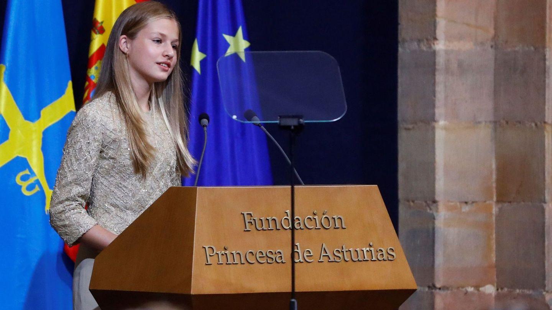 La princesa Leonor. (EFE)