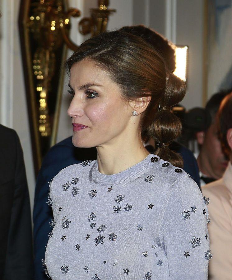 Foto: La Reina en el 60 aniversario de Europa Press. (Cordon Press)