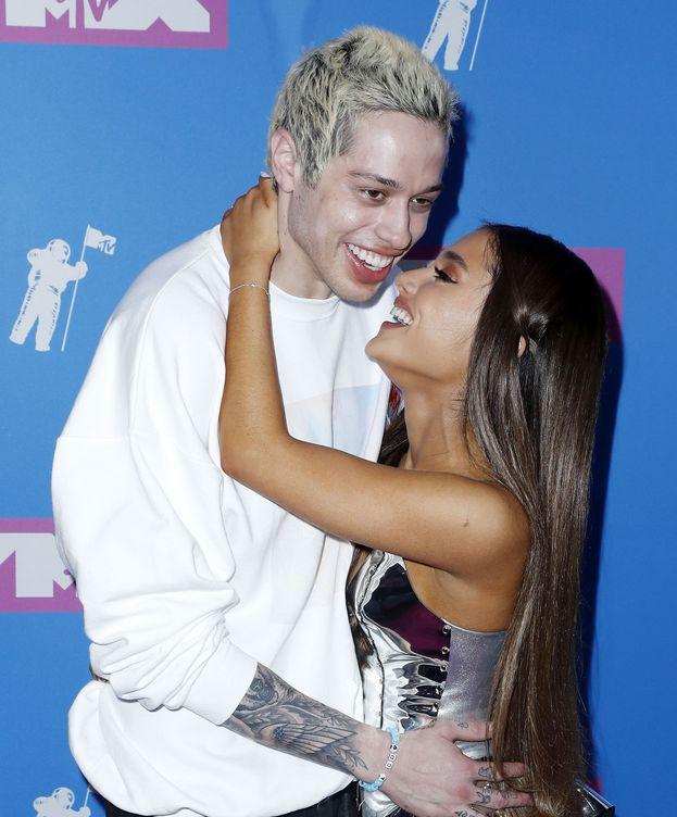 Foto: La pareja en los pasados MTV Awards. (EFE)